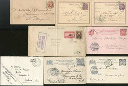 4635: Netherlands Indies - Covers bulk lot