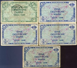 110.80.40: Banknotes - Germany - Federal Republic