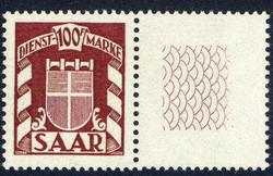 10350020: Saar 1945-1956 - Official stamps