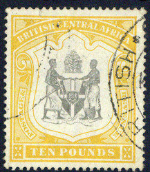 4723: Nyassaland Brit. Zentralafrika