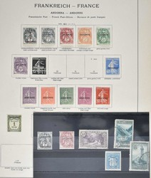 1670: Andorra French Post - Collections