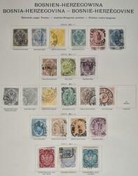 1920: Bosnien Herzegowina  - Sammlungen