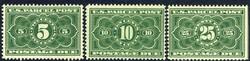 6605: United States - Parcel stamps