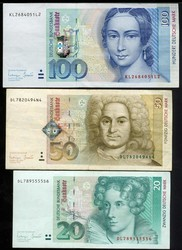 110.80.140: Banknotes - Germany - emergency money