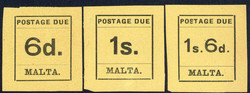 4355: Malta - Postage due stamps