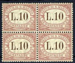 5590: San Marino - Postage due stamps