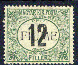 2555: Fiume - Postage due stamps