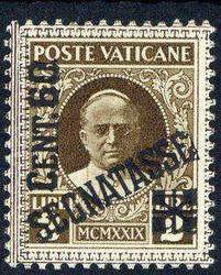 6630: Vatikanstaat - Portomarken