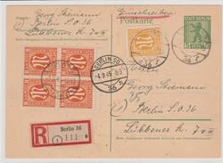 1303: American Zone - Postal stationery