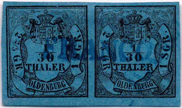 Lot 10012 - germany and colonies Old German States Oldenburg -  Classicphil GmbH Auction #1