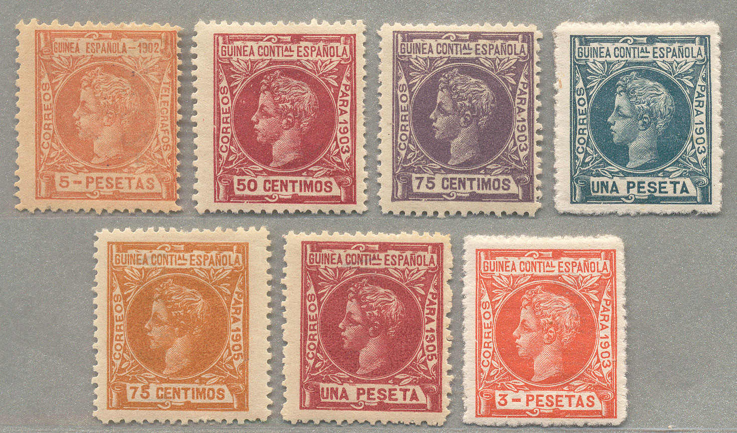 Lot 11097 - andere gebiete spanisch guinea -  classicphil GmbH 7'th classicphil Auction - Day 1