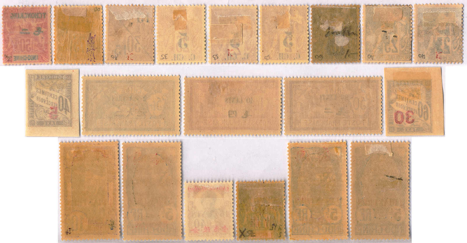 Lot 30089 - China collections and lots french colonies asia -  Classicphil GmbH Auction #1