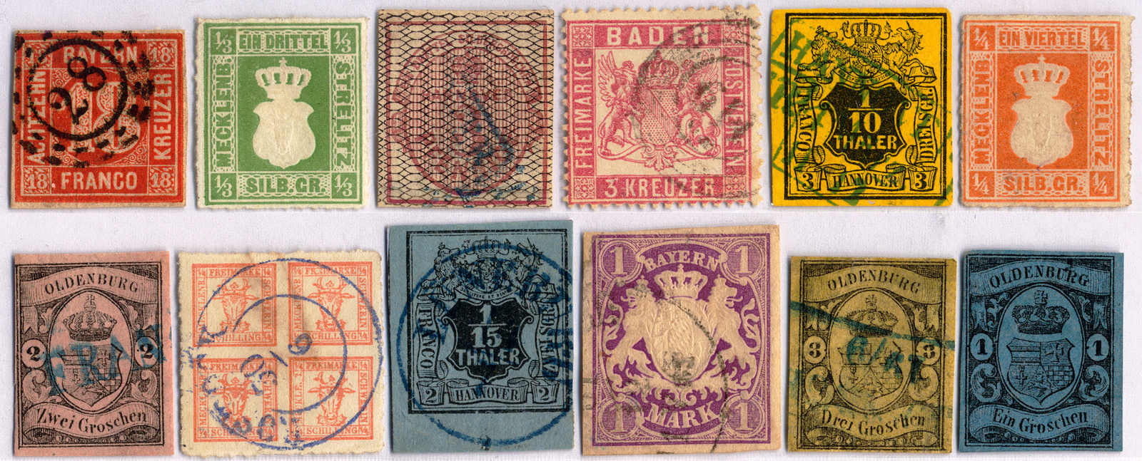 Lot 10003 - germany and colonies collections and lots old german states -  Classicphil GmbH Auction #1