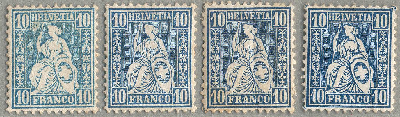 Lot 10229 - Switzerland Switzerland -  classicphil GmbH 3 rd classicphil Auction - VIENNA- AUSTRIA