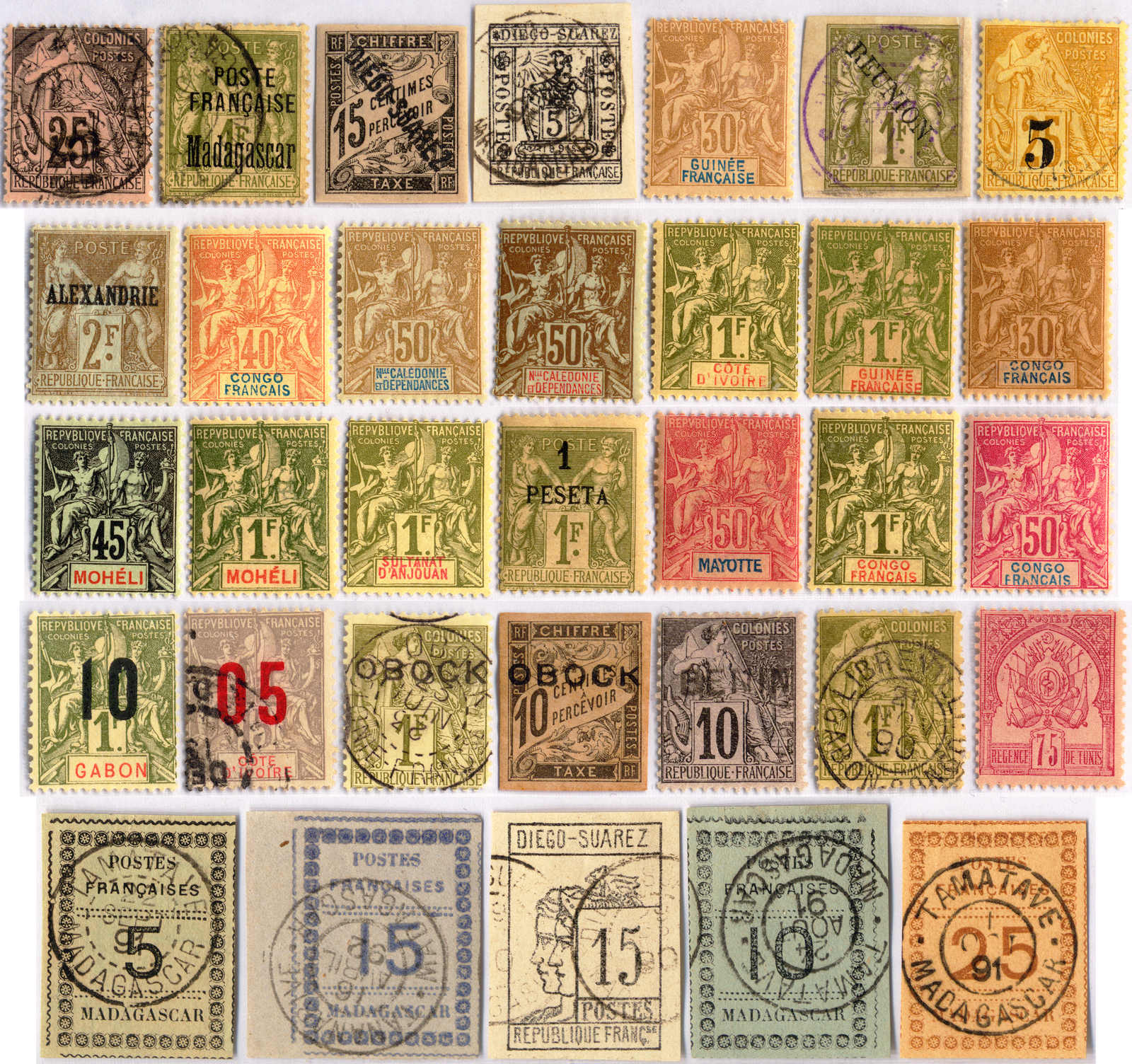 Lot 10130 - france and colonies Collections and Lots French Colonies -  Classicphil GmbH Auction #1