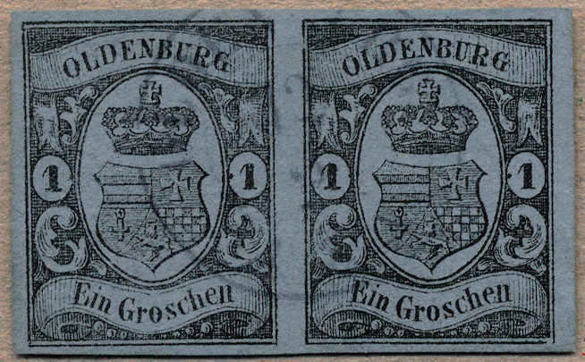 Lot 10021 - germany Old German States Oldenburg -  classicphil GmbH 3 rd classicphil Auction - VIENNA- AUSTRIA