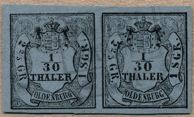 Lot 10019 - germany Old German States Oldenburg -  classicphil GmbH 3 rd classicphil Auction - VIENNA- AUSTRIA