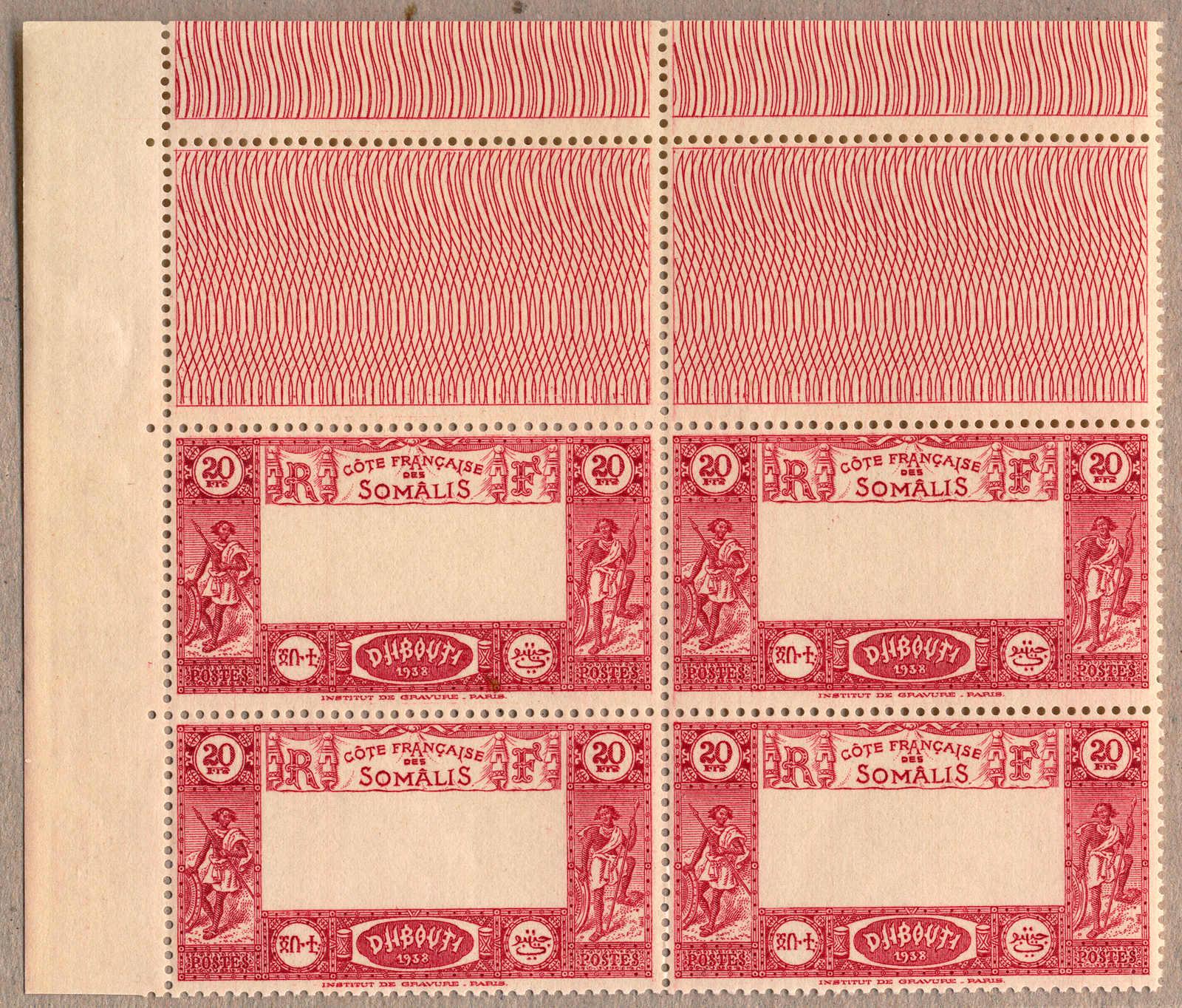 Lot 10105 - french colonies djibouti -  classicphil GmbH 3 rd classicphil Auction - VIENNA- AUSTRIA