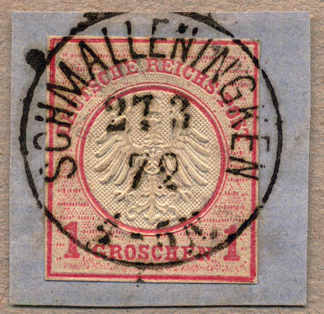 Lot 10022 - germany German Empire, 1872 Small shield issue -  classicphil GmbH 3 rd classicphil Auction - VIENNA- AUSTRIA