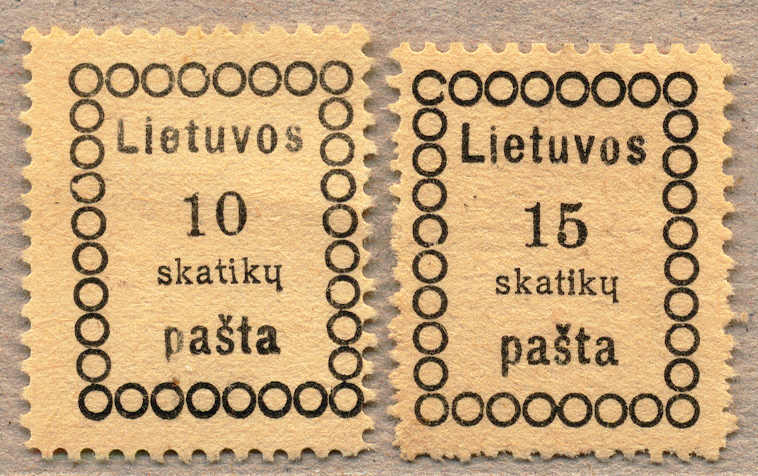 Lot 10010 - europe Lithuania -  classicphil GmbH 3 rd classicphil Auction - VIENNA- AUSTRIA