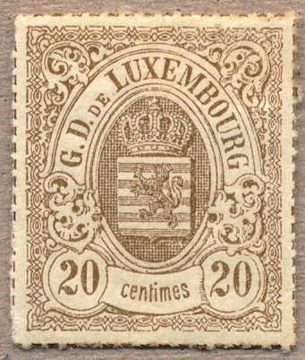 Lot 10110 - europe Luxembourg -  classicphil GmbH 3 rd classicphil Auction - VIENNA- AUSTRIA