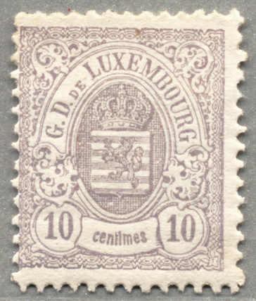 Lot 10112 - Luxembourg  -  classicphil GmbH 5'th classicphil Auction - VIENNA- AUSTRIA