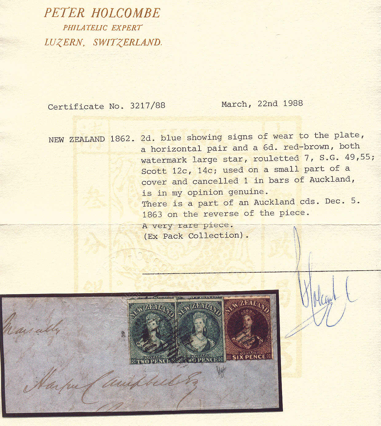 Lot 20016 - andere gebiete neuseeland -  classicphil GmbH 7'th classicphil Auction - Day 2
