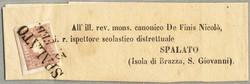 4745355: Austria Cancellations Dalmatia - Newspaper stamps