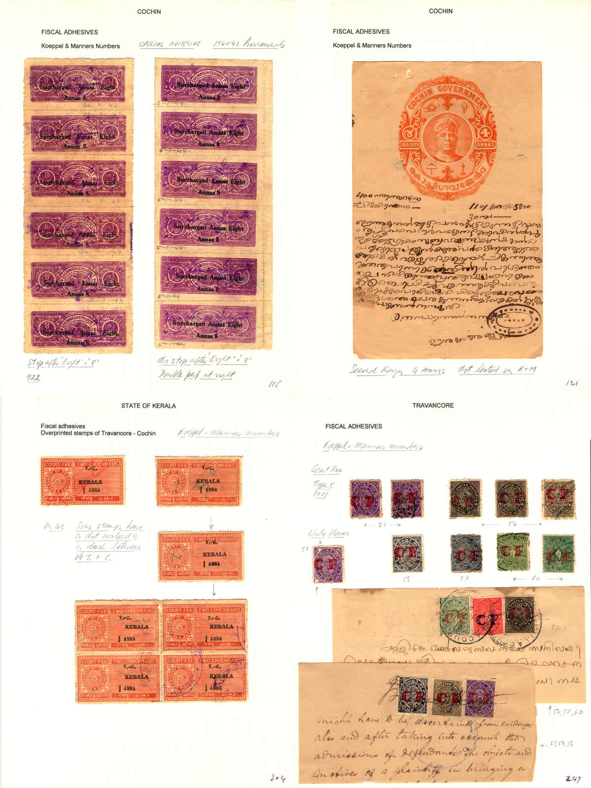 Lot 30638 - india Collections and Lots Indian Feudatory States -  classicphil GmbH 3 rd classicphil Auction - VIENNA- AUSTRIA