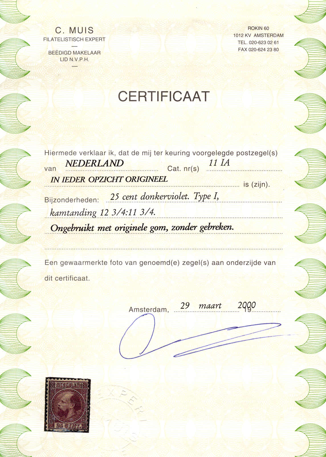 Lot 10133 - europe Netherlands -  classicphil GmbH 3 rd classicphil Auction - VIENNA- AUSTRIA