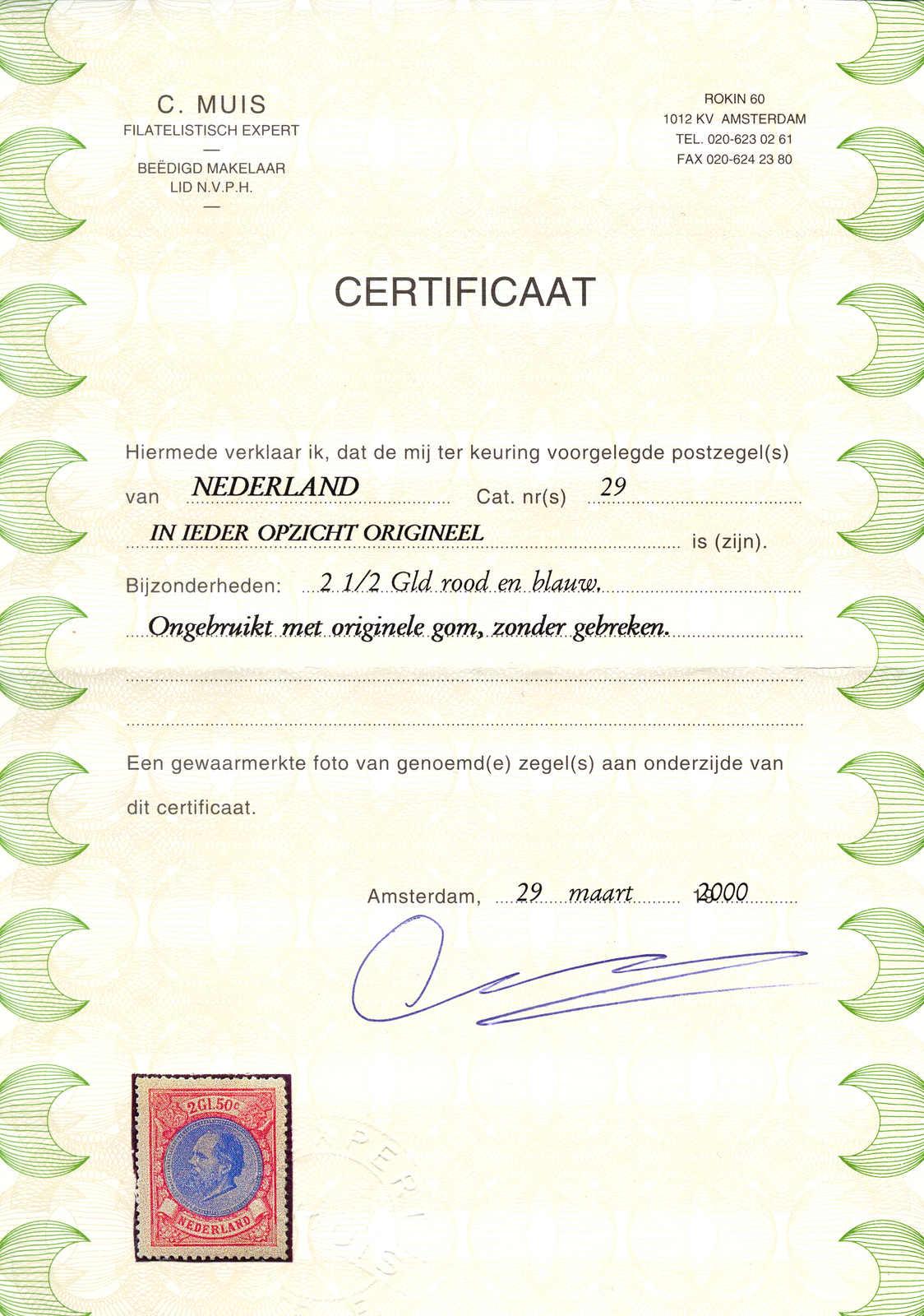 Lot 10140 - europe Netherlands -  classicphil GmbH 3 rd classicphil Auction - VIENNA- AUSTRIA