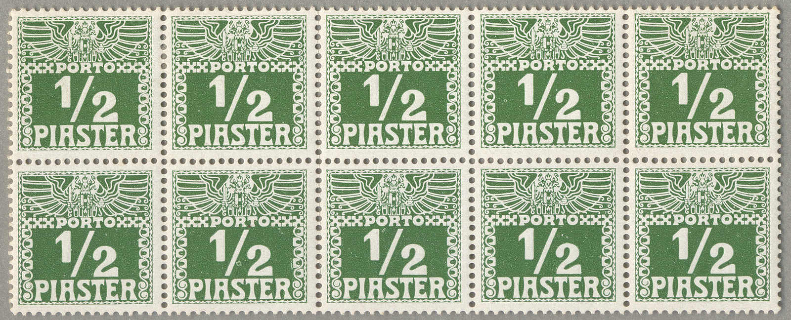 Lot 40308 - europa österreich post in der levante -  classicphil GmbH 6'th classicphil Auction - Day 3