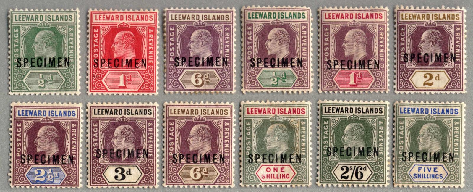 Lot 20762 - leeward islands  -  classicphil GmbH 5'th classicphil Auction - VIENNA- AUSTRIA