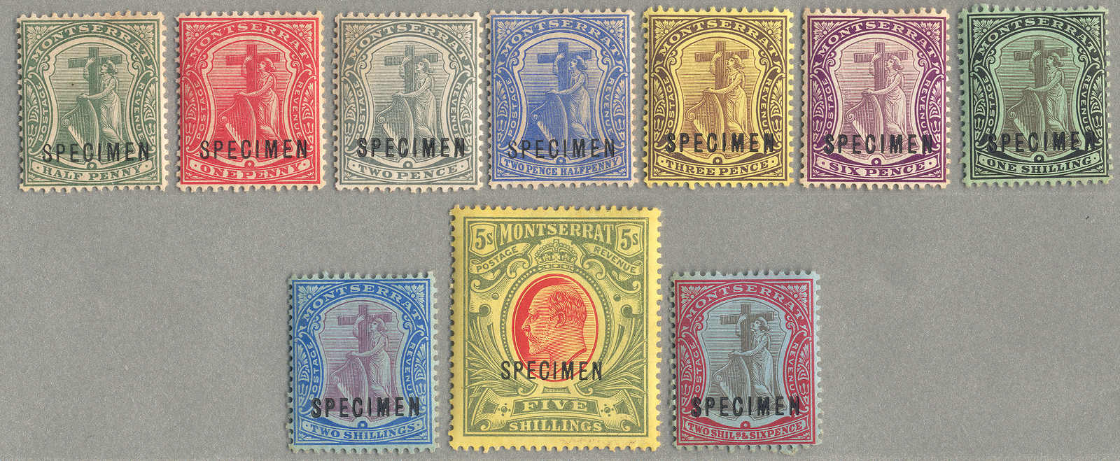 Lot 10615 - andere gebiete montserrat -  classicphil GmbH 6'th classicphil Auction - Day 1