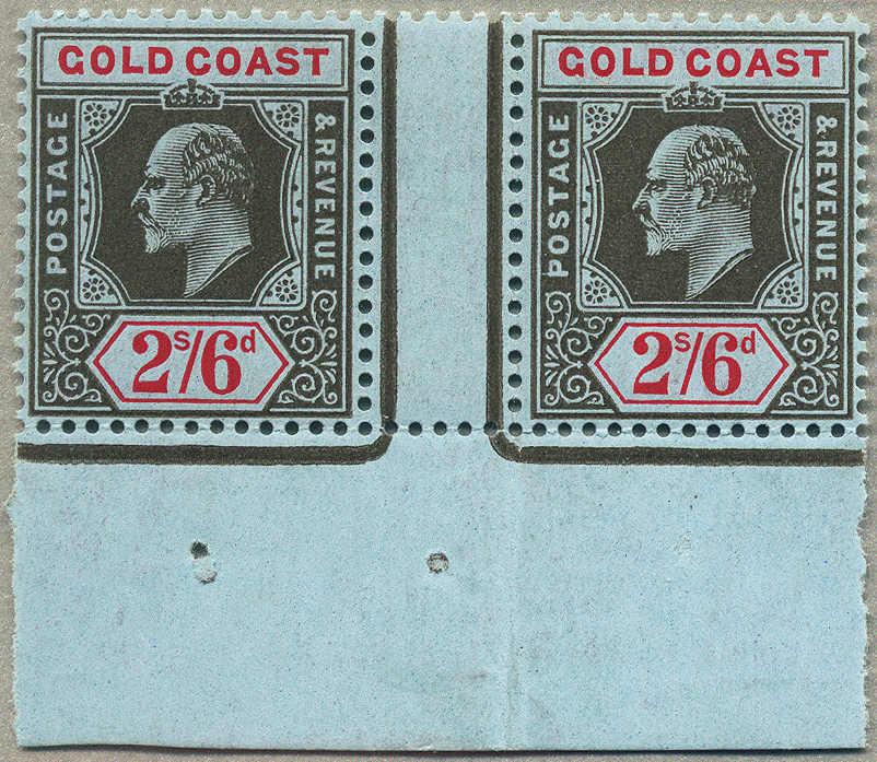 Lot 20341 - British Commonwealth gold coast -  classicphil GmbH 8'th classicphil Auction - Day 2