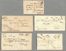 4745360: Österreich Abstempelungen Galizien - Vorphilatelie