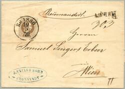 4745080: Österreich Ausgabe 1867 gebraucht in Ungarn