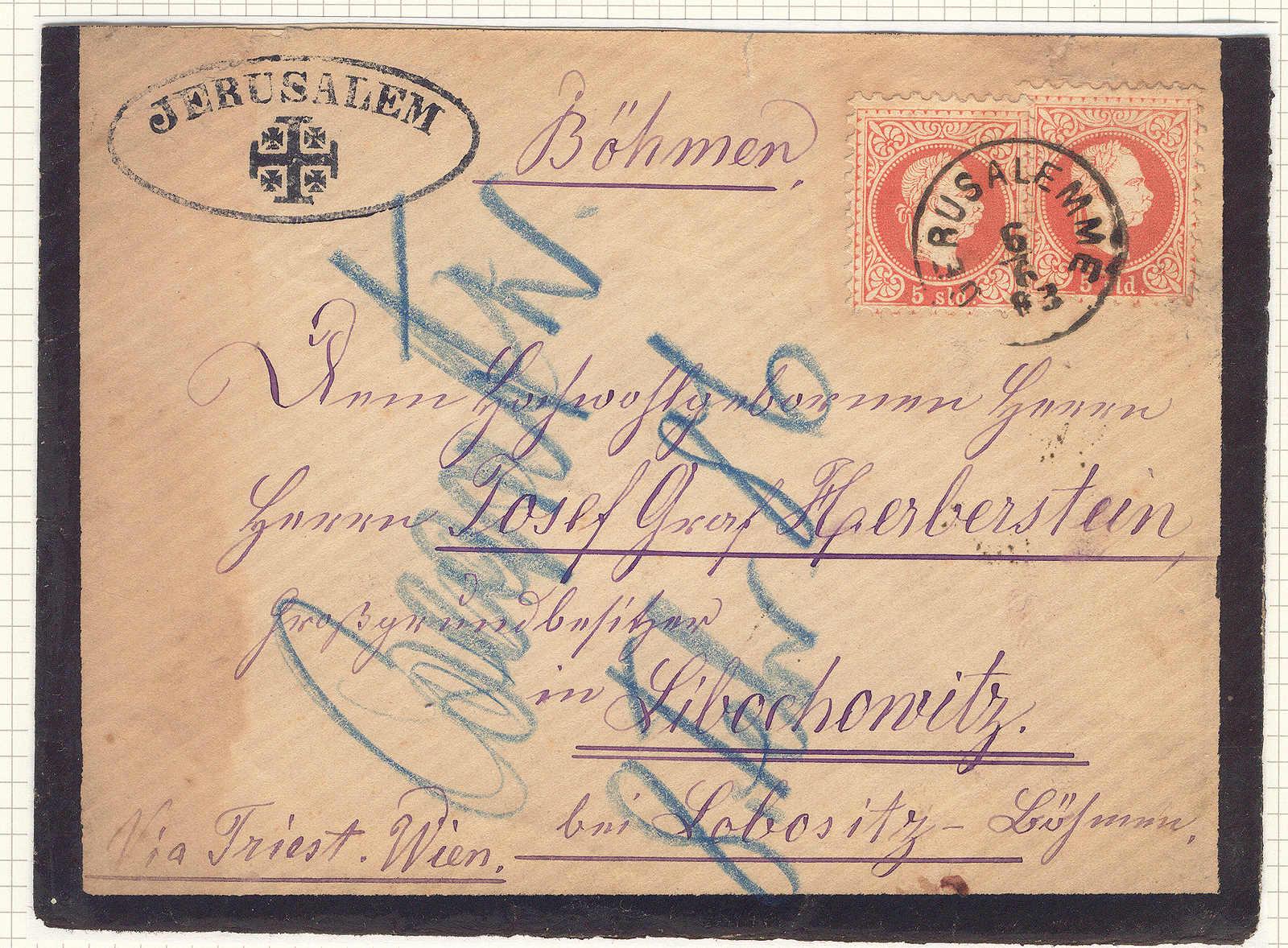 Lot 40273 - europa österreich post in der levante -  classicphil GmbH 6'th classicphil Auction - Day 3