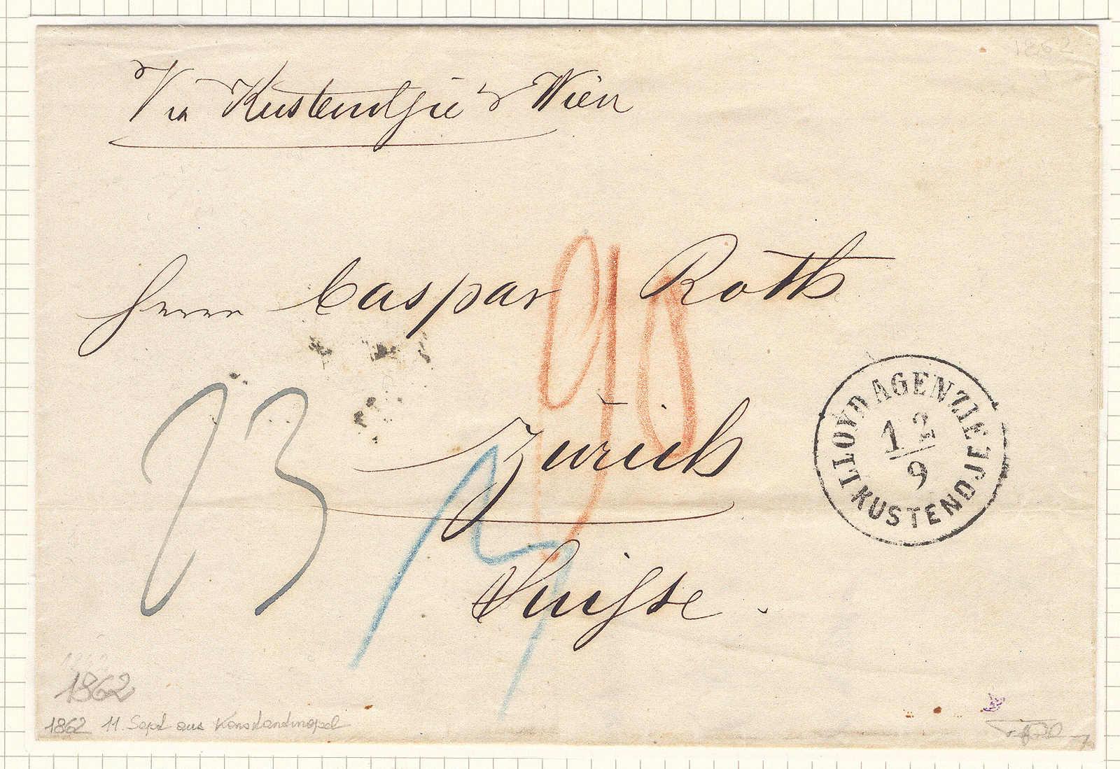 Lot 40278 - europa österreich post in der levante -  classicphil GmbH 6'th classicphil Auction - Day 3