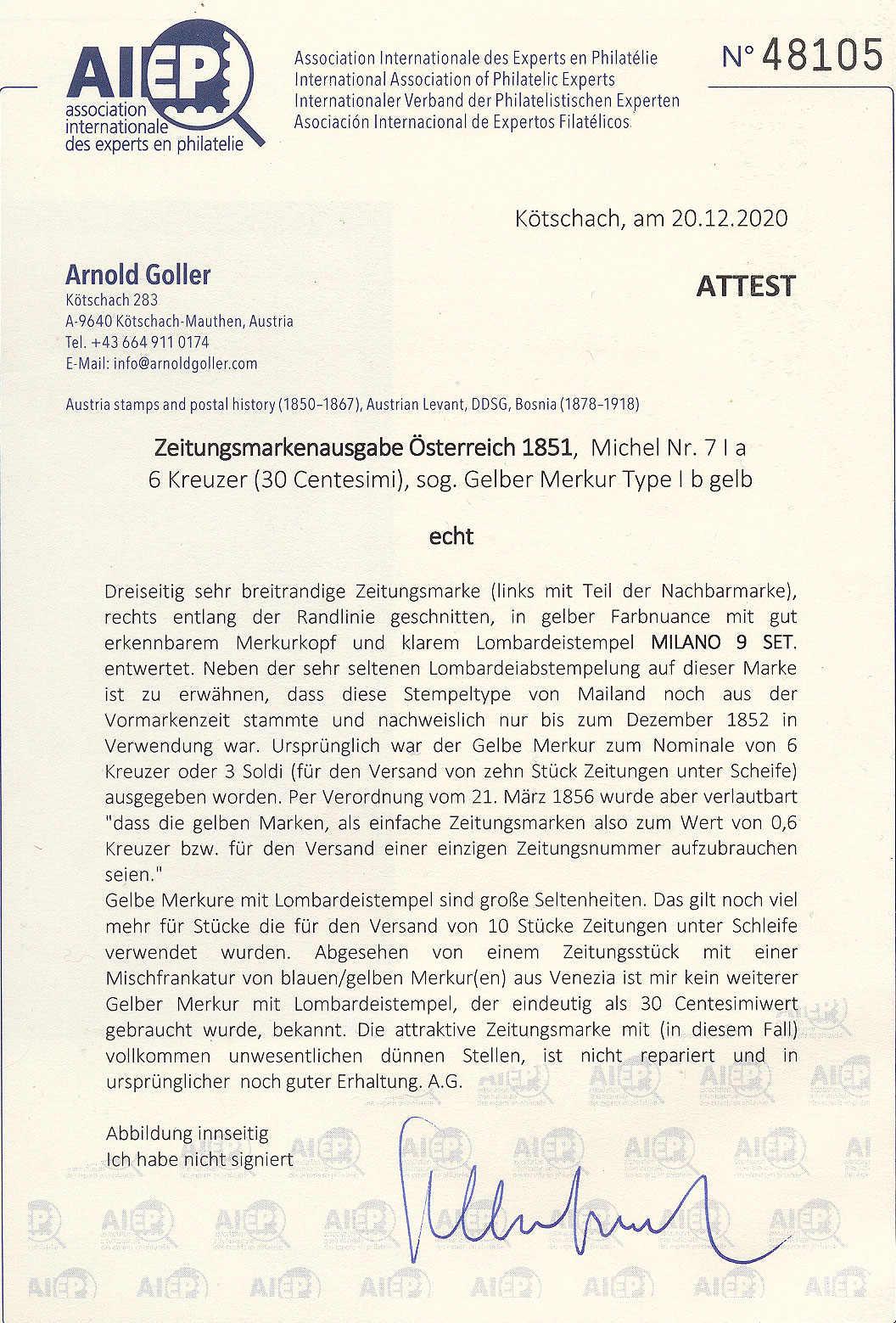 Lot 10456 - europa österreich lombardei venetien -  classicphil GmbH 7'th classicphil Auction - Day 1
