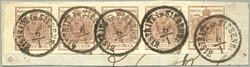 4745395: Österreich Abstempelungen Siebenbürgen