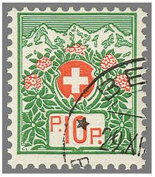5655: Schweiz - Portofreiheitsmarken