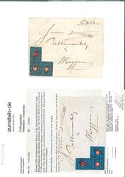 7240: Sammlungen und Posten Altschweiz - Briefe Posten