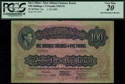 110.550.304: Banknotes – Africa - East Africa