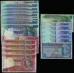 110.570.300: Banknoten - Asien - Malaysia