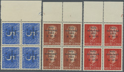 4550: N.W. Pacific Islands, New Guinea - Stamps bulk lot