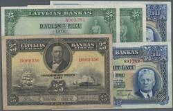 110.240: Banknoten - Lettland