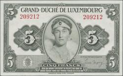 110.270: 紙鈔 - 盧森堡