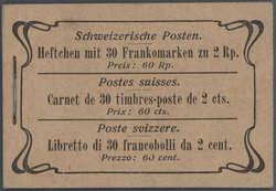 5655: Schweiz - Markenheftchen