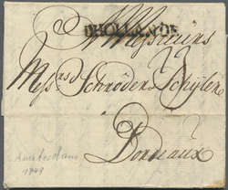 7092: Collections and Lots  Benelux - Pre-philately